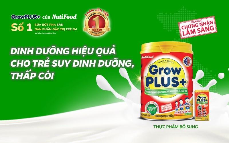 Các loại sữa bột trên thị trường của NutiFood giúp trẻ phát triển toàn diện