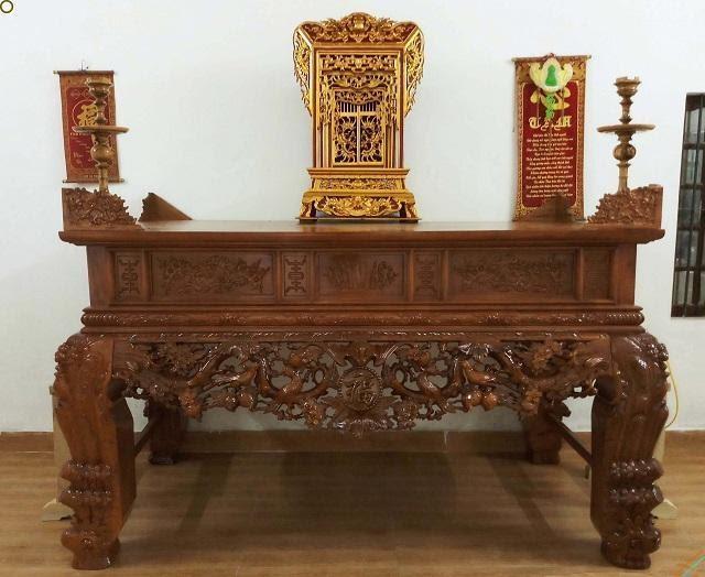 Sập thờ nhị cấp là gì? Sập thờ nhị cấp có giá bao nhiêu? Mua sập thờ nhị cấp ở đâu chất lượng? (2020)