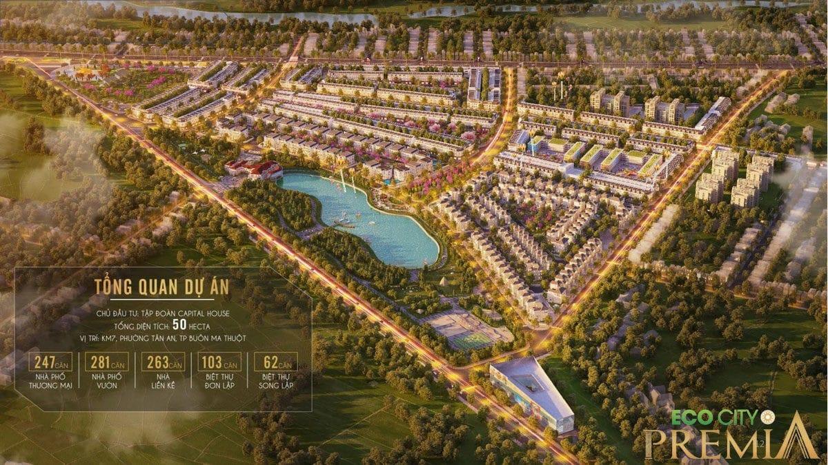 Dự án Eco City Premia – KĐT KM7